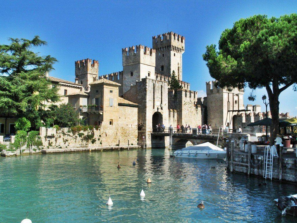 Sirmione Lake Garda Italy Sirmione sits regally on the