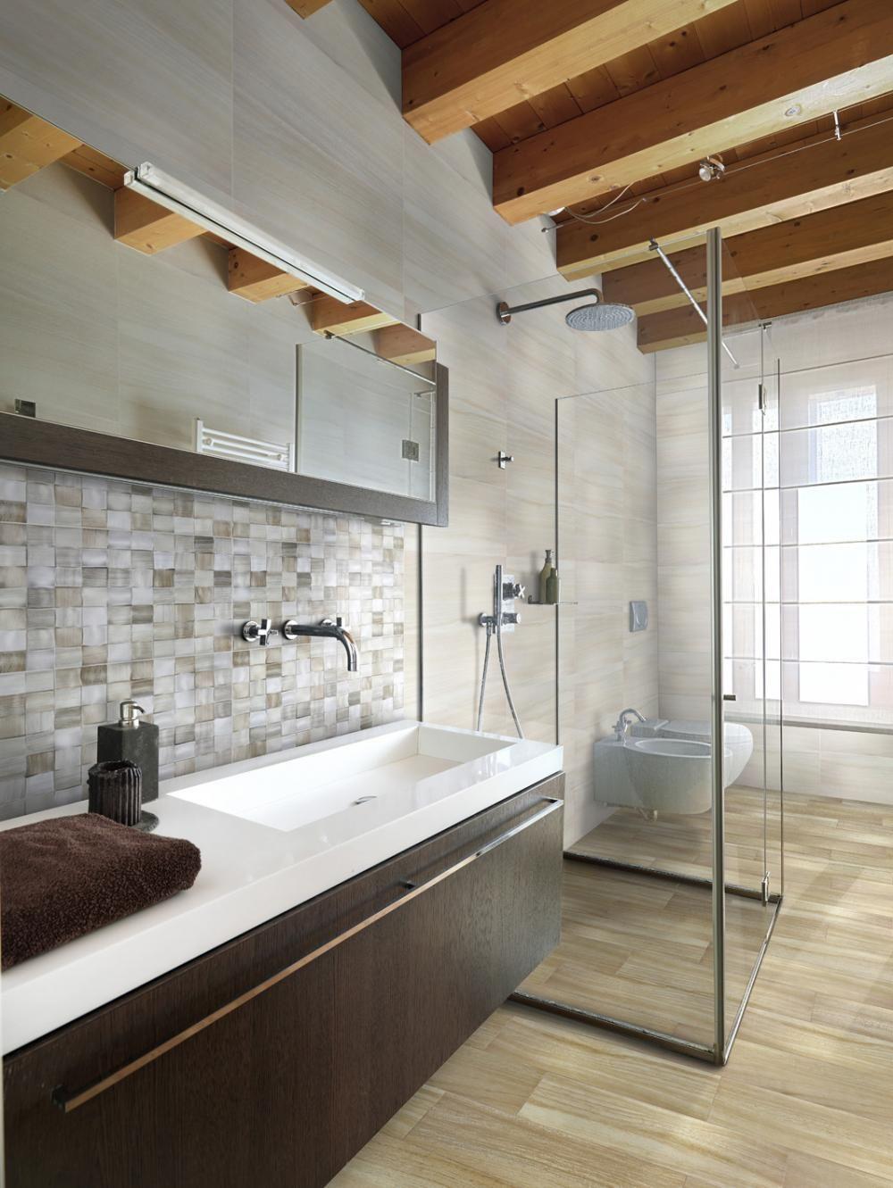 Valmont doccia passante Bagno interno