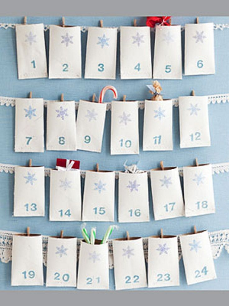 Top 10 Ideas for an Advent Calendar