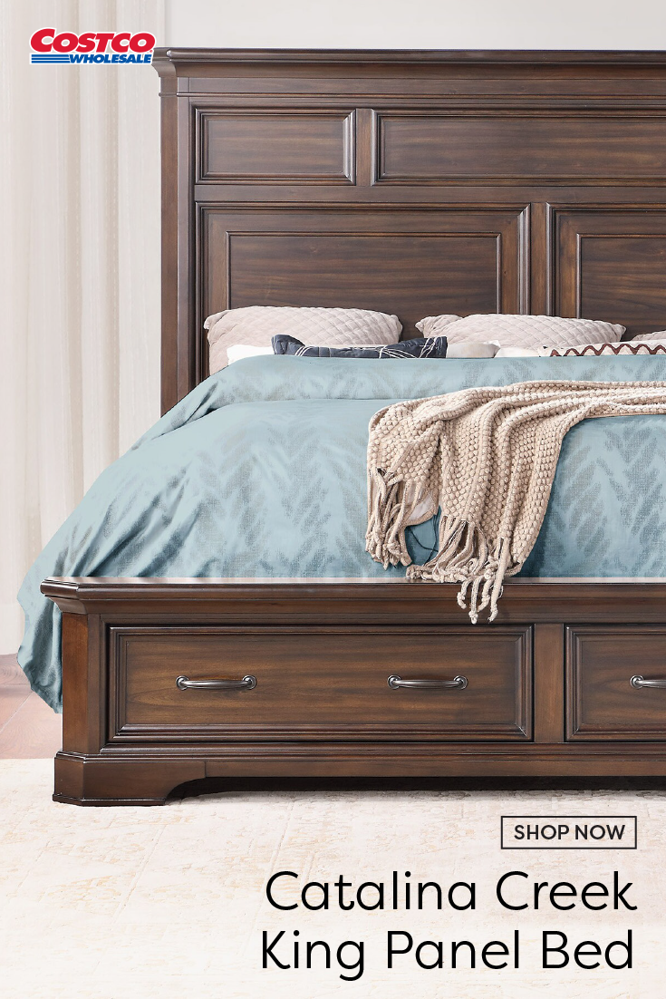Contemporary style with a traditional feel, the Catalina
