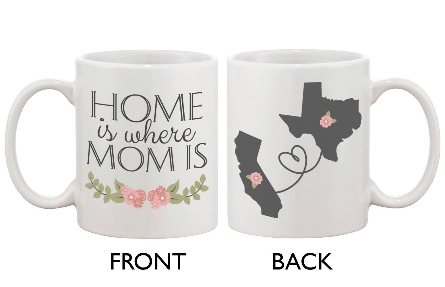 Details about personalized long distance relationship mugs