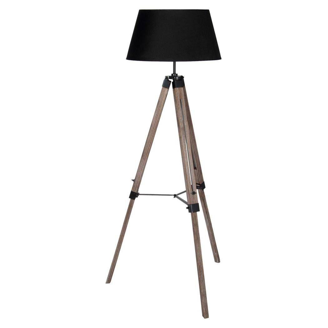 Windsor 143cm Tripod Floor Lamp Black