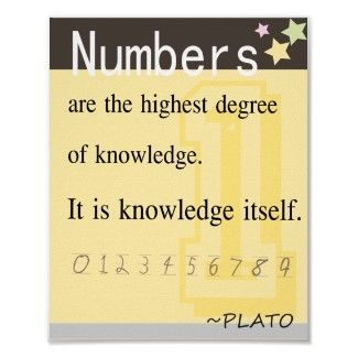 Math Quote By Plato Posters Math Quotes Inspirational Math Quotes Funny Math Quotes