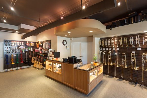 It Was Almost Exactly A Year Ago That James Manganaro Opened His Musical  Instrument Store On Oak Grove Avenue In Menlo Park, Vowing That He Was  Trying To U201c ...