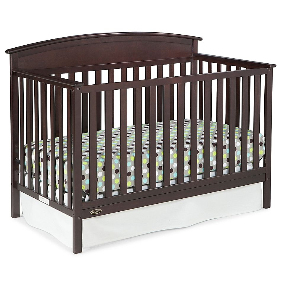 Graco Benton 4In1 Convertible Crib In Espresso