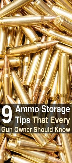 9 Ammo Storage Tips That Every Gun Owner Should Know #gunsammo