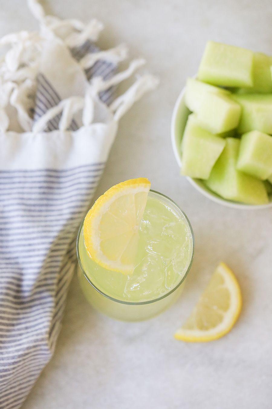 Refreshing Honeydew Lemonade #honeydewsmoothie