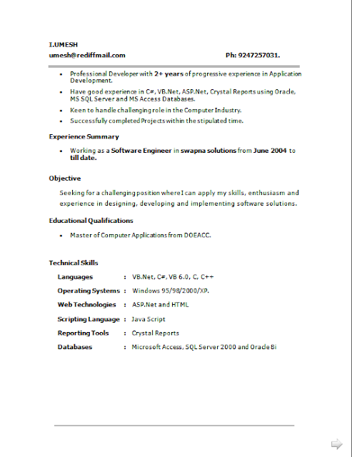 By billupsforcongress Sample Resume For Experienced Production