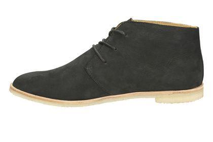 Womens Originals Boots - PHENIA DESERT in Black Nubuck from Clarks shoes