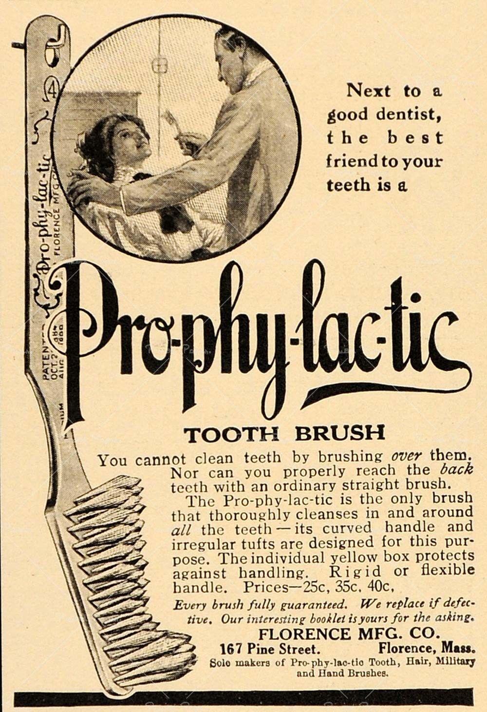 Vintage bathroom ads - Vintage Toothpaste Poster