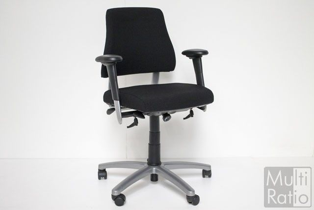 Verkocht tweedehands bureaustoel axia office nieuw gestoffeerd
