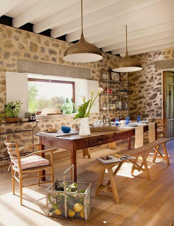Ideas para decorar la casa estilo campestre decoracion for Casas de campo decoracion interior