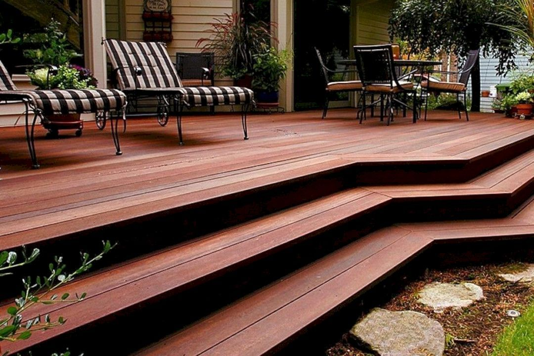 15 Incredible Wooden Deck Design For