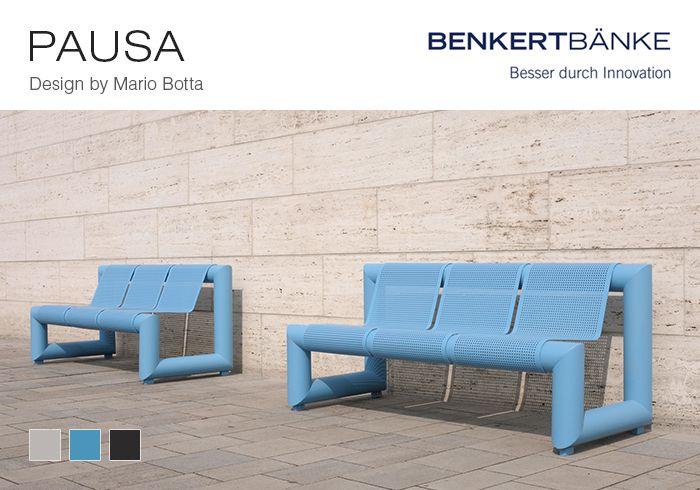 Письмо «Benches designed by Mario Botta for Benkert Bänke ...