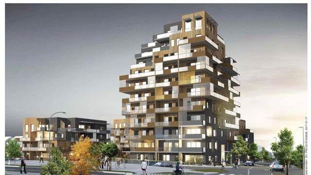 Uppsala kommun vill lämna den utslätade arkitekturen och ha mer av sådant som utmanar. Ett exempel är det kommande elvavåningshuset i Sävja.