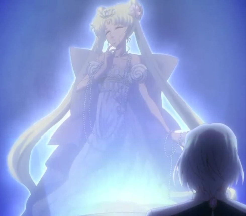 Neo Queen Serenity Crystal: Neo Queen Serenity & Prince Demande From Sailor Moon