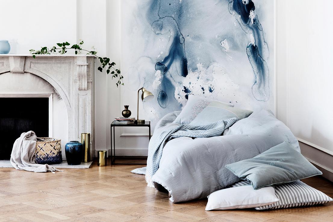 Parete A Pois Fai Da Te : Trend casa pareti decorate che arredano roombed
