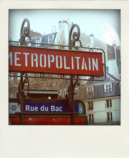 Metro Rue Du Bac Paris Paris Paris Metro Paris Markets