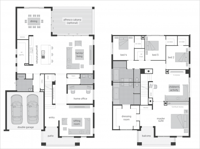 Timeline Photos Mcdonald Jones Homes Double Storey House Plans Two Storey House Plans Dream House Plans