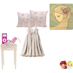 Go to sleep... #pink #dress #homewear #style #home #outfit #new #vintage #shabbychic #chic