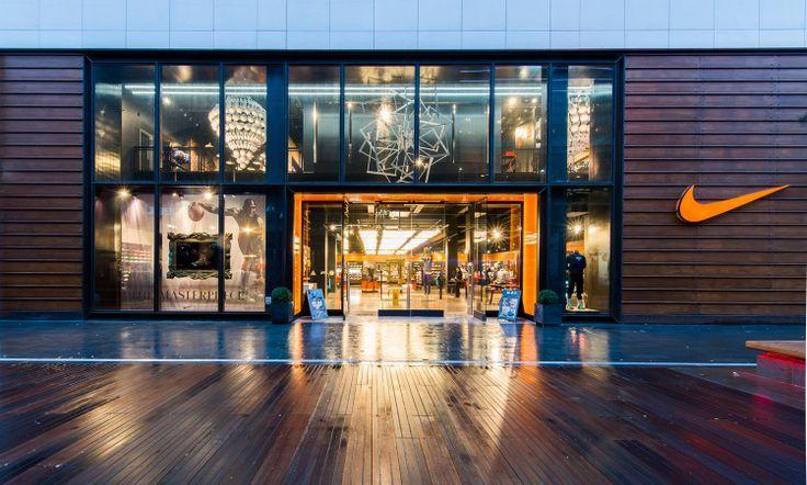 Painstaking enemy Panda  retail store exterior nike miami - Google Search   Nike retail, Retail  facade, Architecture