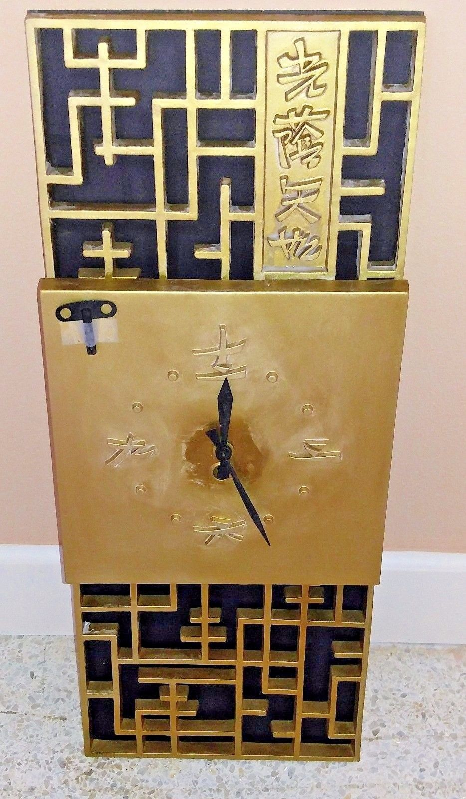 Message, matchless))), Asian clock decor wall can not