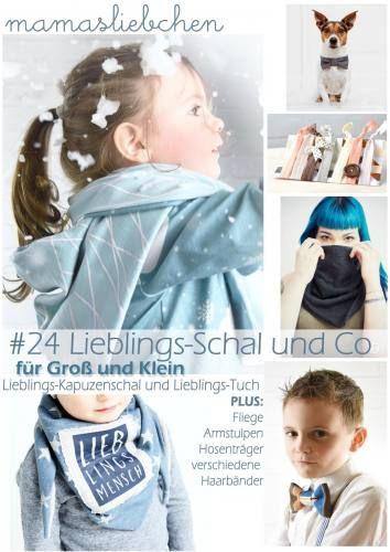EBook Nähanleitung und Schnittmuster #24 Lieblings-Schal & Co von ...