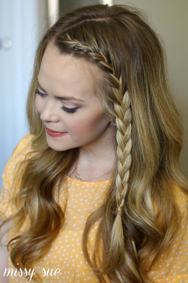 French Accent Braid Front French Braids French Braid Hairstyles Hair Styles