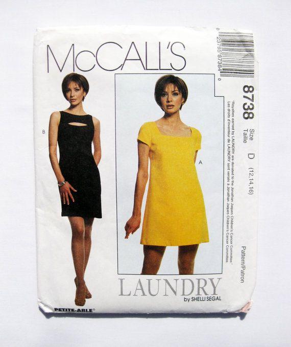 Shelli Segal Lined Dresses, Designer Fashion, Sizes 12, 14, 16  #SewingPattern #dresspatterns