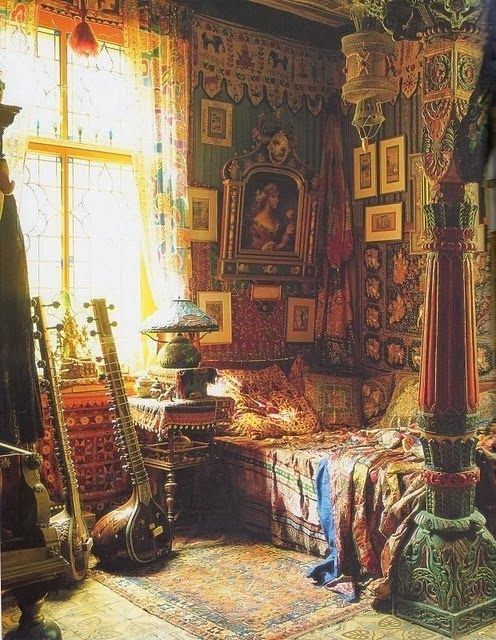 Romany Soup: Cornelis le Mair | Bohemian Interior & Exterior ...