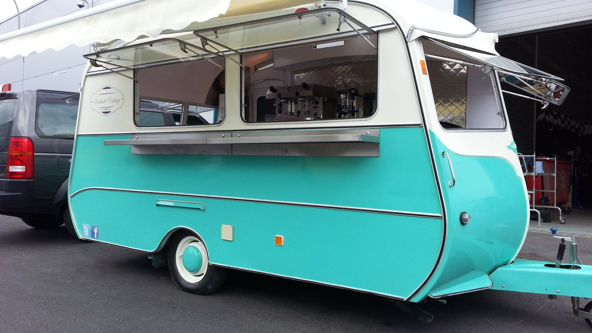 Vintage caravan refits coffee trucks for sale