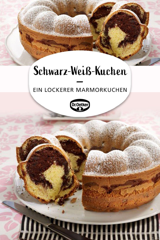 Schwarz Weiss Kuchen Rezept Marmorkuchen Rezept Marmorkuchen Kuchen