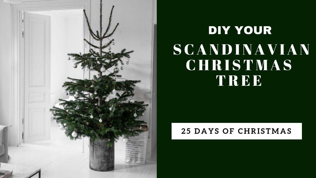 Master The Scandinavian Christmas Tree Day Nine 25 Days Of Christmas Countdown Youtube Christmas Scandinavian Christmas Trees Scandinavian Christmas