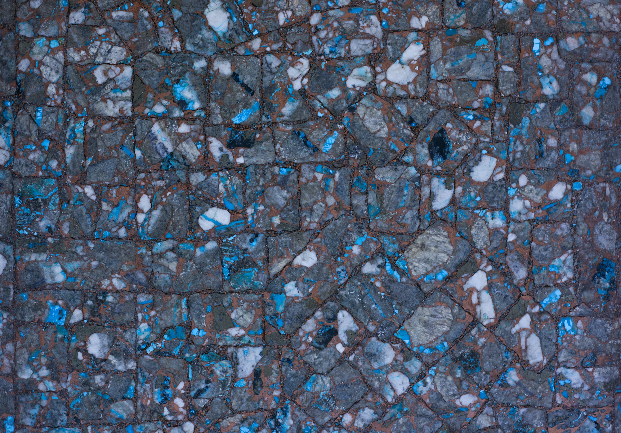 Our Ithaca Peak tile features our stunning copper matrix. | Metal ...