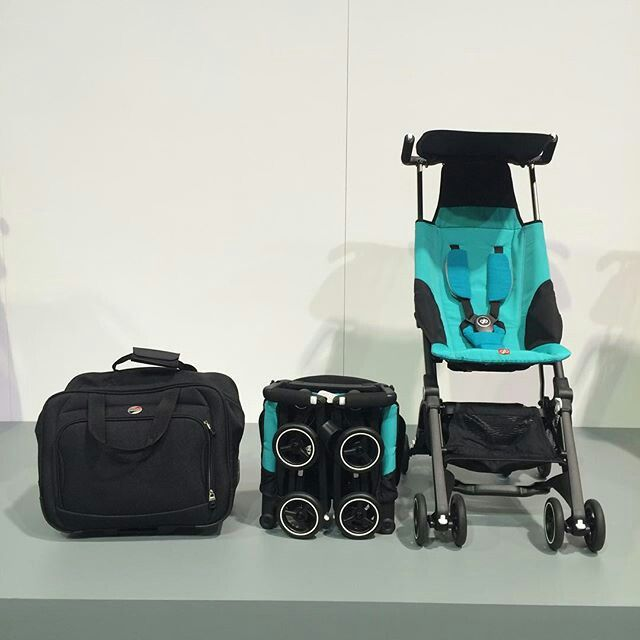 No. NOW WAY. The GB Pockit ultra compact stroller, which made it ...