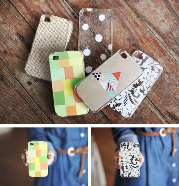 Funda Iphone 4 Perforada DIY para Personalizar Punto de Cruz - verde