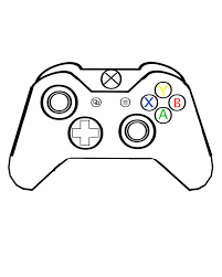 Image Result For Xbox Controller Line Drawing Xbox Controller Xbox One Controller Line Drawing