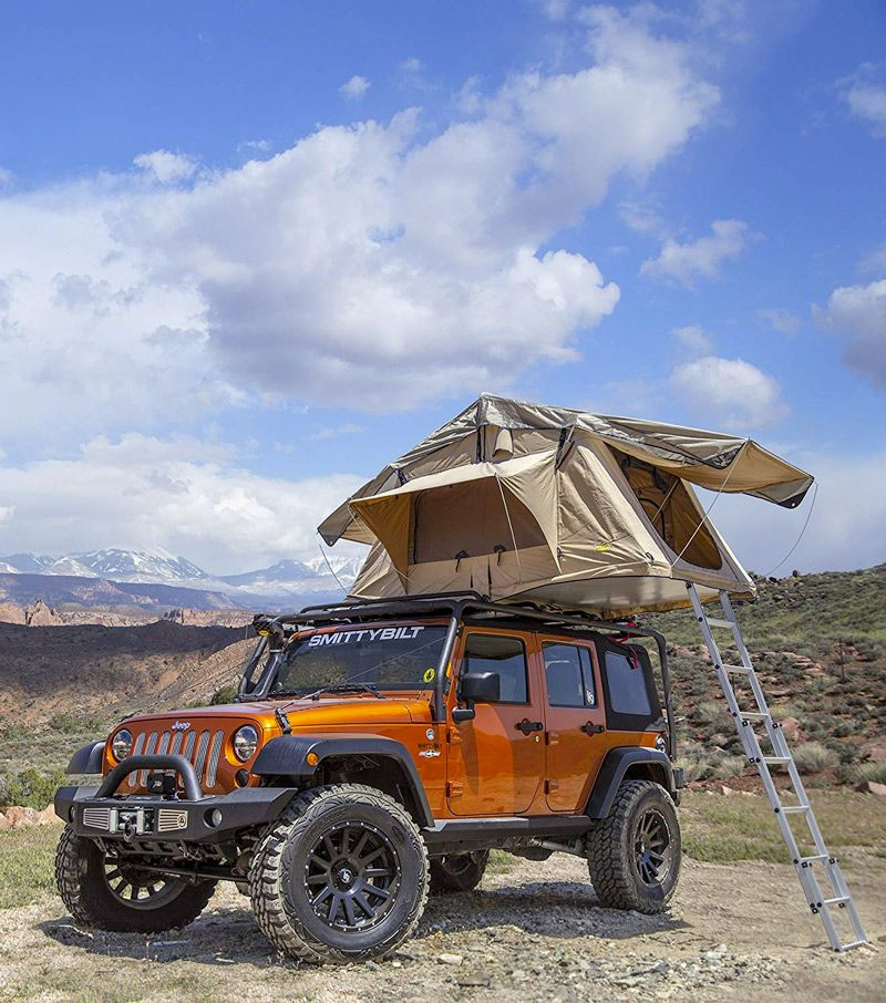 Hard Shell Vs Soft Shell Roof Top Tents Which Is Best For Overlanding And Adventure Travel Roof Top Tent Top Tents Jeep Wrangler
