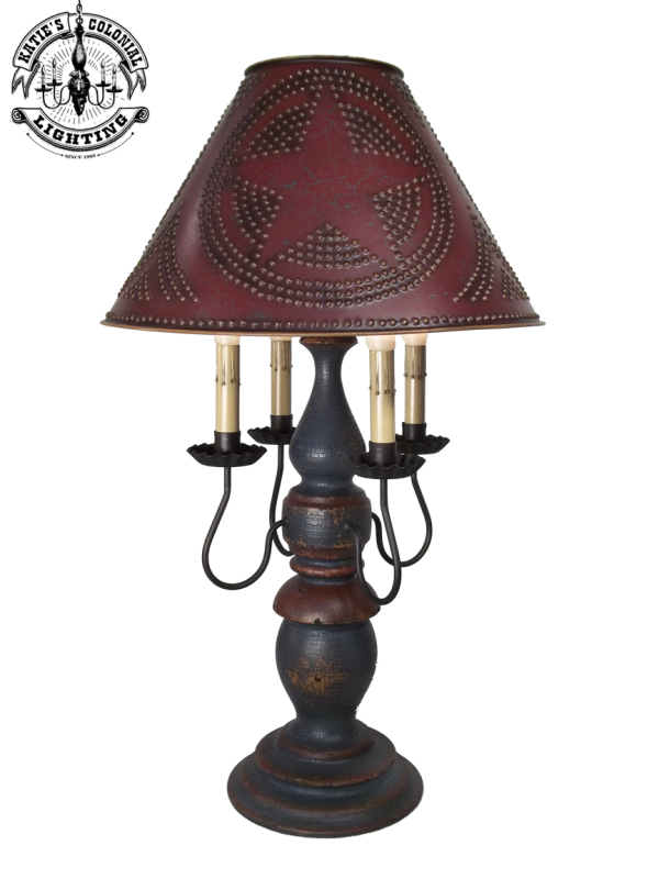 KLH Liberty Lamp Large Country Living Primitives | table