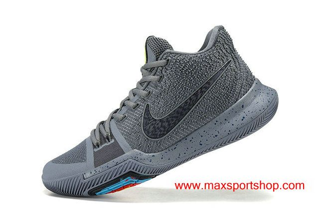 2017 Nike Kyrie 3 iD Wolf Grey Men s Basketball Shoes  2a3ea83ded2d
