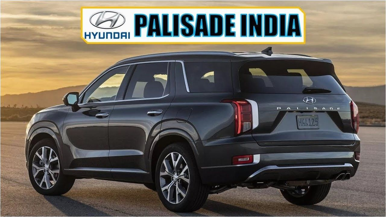 Hyundai Palisade 2020 Price In India in 2020 Hyundai