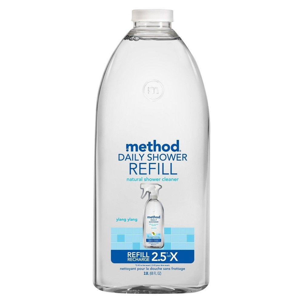 Method Cleaning Products Daily Shower Cleaner Refill Ylang Ylang