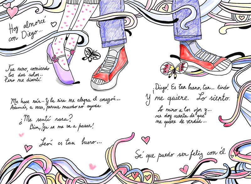 Desenhos De Fairest Rewrite Em Diary Of Violetta Castillo