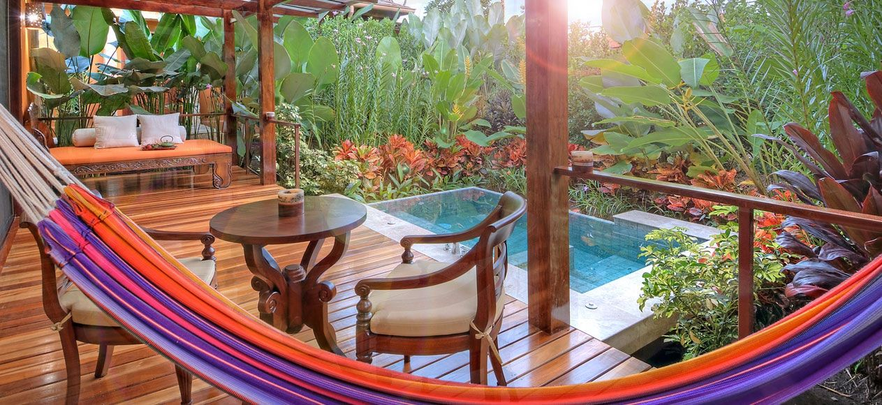 Relax in indulgent style in a Nayara Springs villa, Arenal Volcano region, Costa Rica