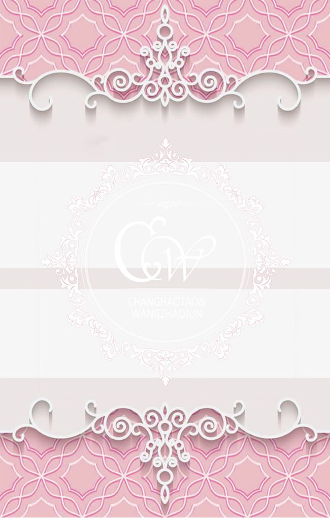 Romantic Pink Wedding Background Material Romantic Pink Wedding Png Transparent Clipart Image And Psd File For Free Download Invitation Background Wedding Invitation Background Wedding Background