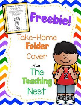 Photo of Take-Home Folder Cover Freebie