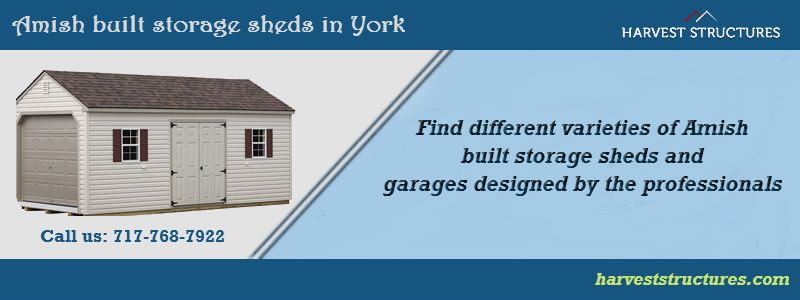 Amish Built Storage Sheds U0026 Garages In York