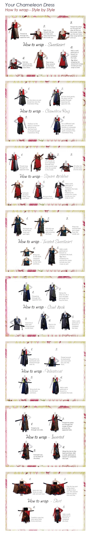 kariza wrap skirt instructions