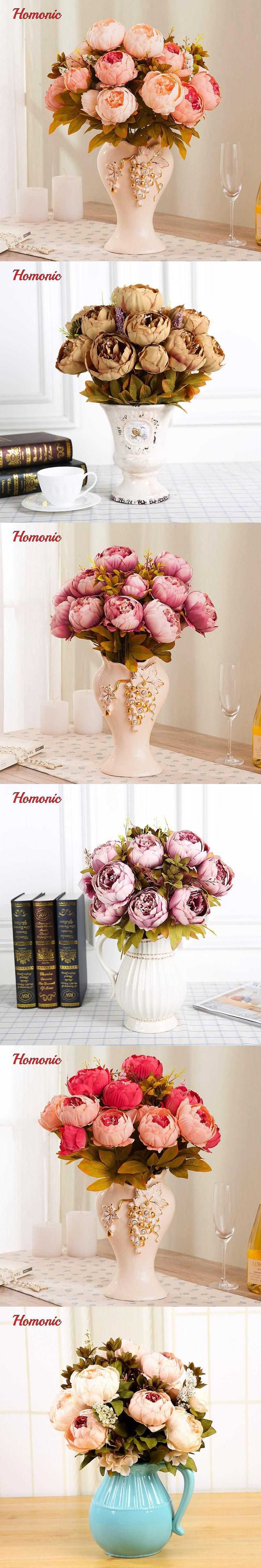 Artificial Artificial Flowers Peony Silk Peony Flowers Wholesale
