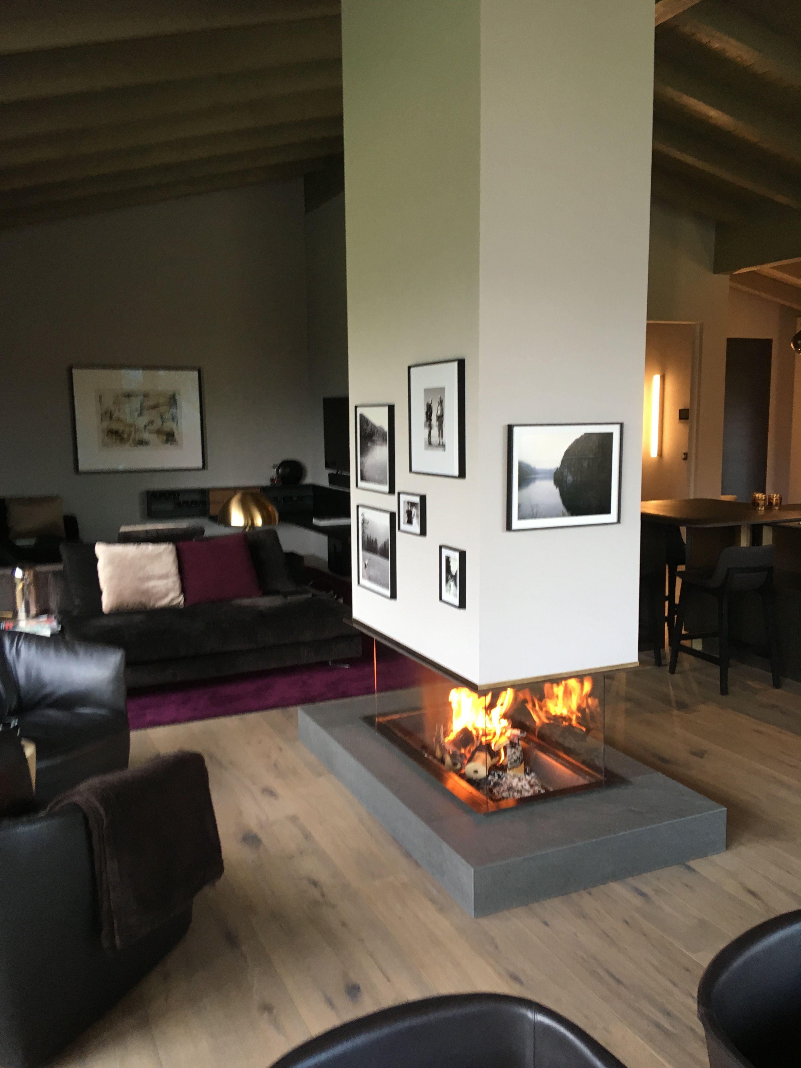 offener Kamin www.suppacher.at #wohnzimmer #dekoration #einrichten